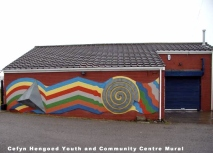 Cefyn Hengoed Youth and Community Centre Mural_godfrey_phillips